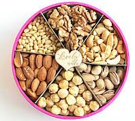"Подарочный Набор Коробочка с Орехами 500 г ""Lovely nuts"" Асорти"