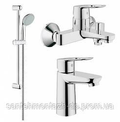 BauLoop Набор смесителей для ванны (23337000+32815000+27598000)