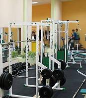 Спортивная плитка для тренажерных залов 500х500х50 мм