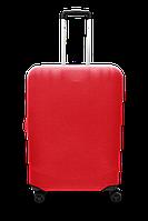 Чохол для валізи мікродайвінг червоний /Чехол для чемодана  Coverbag  микродайвинг  S красный