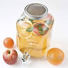 Лимонадница Йоркшир, 5л, (лимонадник, диспенсер), кран -пластик