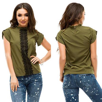Летняя блуза с гипюром, фото 2