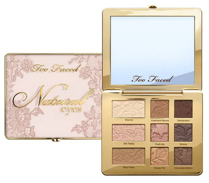 Тени TOO FACED Natural Eyes 2018