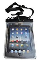 """Водонепроникний чохол для планшета /Водонепроницаемый чехол для планшета """"11"""" + шнурок на шею прозрачный"""