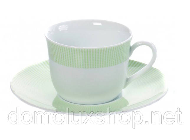 DPL Smart Green Чашка чайная 220 мл + блюдце (021586)