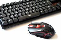 Беспроводная компьютерная клавиатура и мышь HK6500