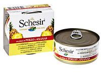 Влажный корм консервы для собак Schesir (Шезир) КУРИЦА С ЯБЛОКОМ (Chicken Аpple)