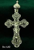 """Крест серебряный 925 пробы """"Распятие Христа"""""""