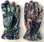 Перчатки зимние камуфляж