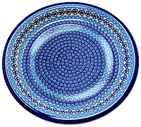 Керамическое блюдо Ø29 Blue Lagoon, фото 1