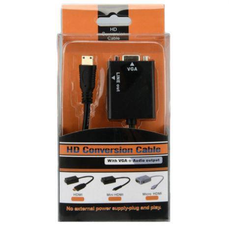 Конвертер HDMI на VGA монитор со звуком PS3 PS4 T2 Xbox заглушка т2, фото 2