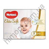Подгузники Huggies Elite Soft 3 (5-9 кг), 80 шт.