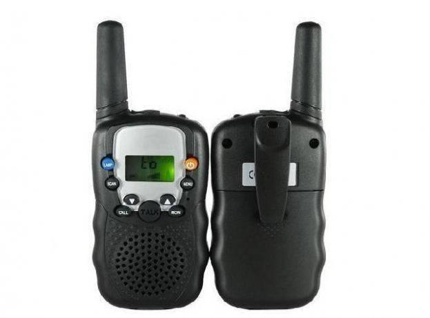 Радиостанция игра 2шт (рация) Talkie Walkie T-388 с фонариком лыжные, фото 2