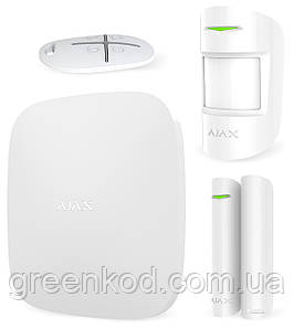 Комплект сигнализации Ajax StarterKit /белый