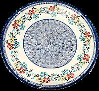 Керамическое Блюдо Ø28 Весенний луг