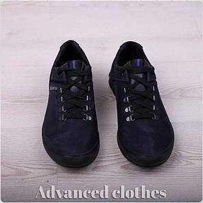 Кроссовки на шнурке натуральный замш, фото 2