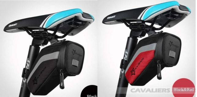 Велосумка ROCKBROS под седло вело сумка водонепроницаемая 2 цвета, фото 2