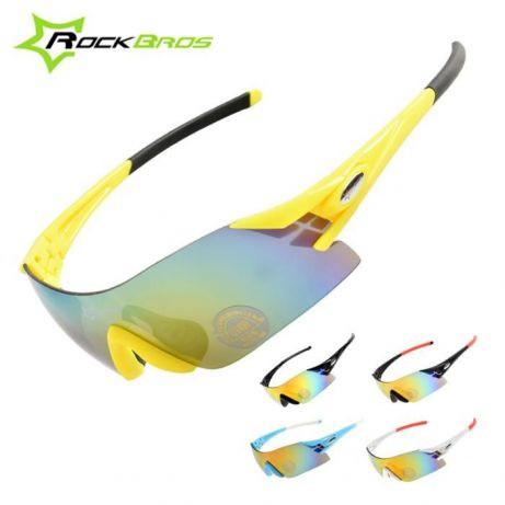 PREMIUM очки RockBros 1 линза SP35 поляризованные UV400 вело окуляри