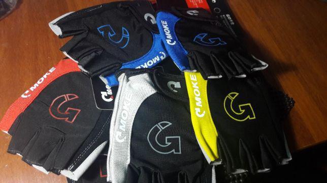 Вело перчатки MOKE L-XL велорукавиці ROBESBON/Pearl Izumi велоперчатки