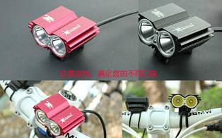 Фара+ПОДАРКИ велофара сова SOLARSTORM USB 1600lm CREE T6 вело