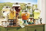 Лимонадница Bormioli, 5л, МЕТАЛЛИЧЕСКИЙ кран (лимонадник, диспенсер), Италия, фото 5