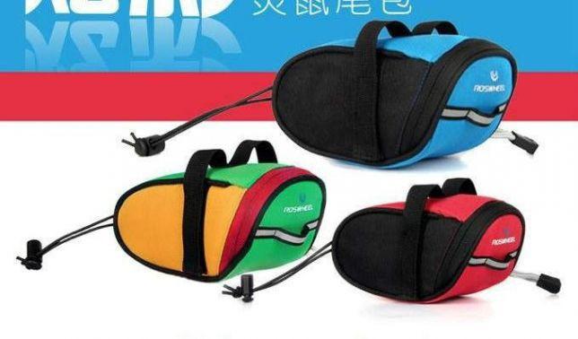 Велосумка под седло ROSWHEEL 15х7х7.5 см подседельная вело сумка