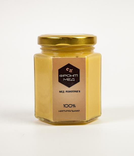 Мёд разнотравие (натуральный, с хозяйства)