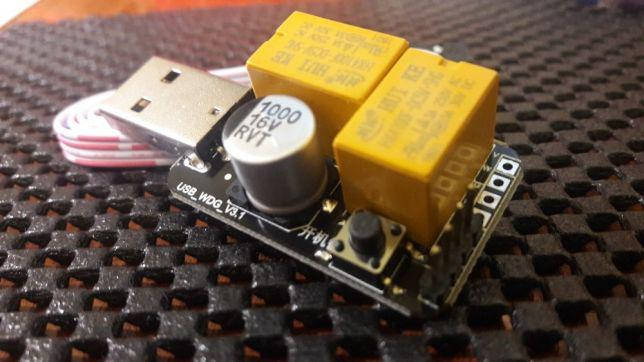 Сторожевой таймер v3.1 WatchDog 2 реле RESET PWR ватчдог вотчдог, фото 2