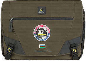 Сумка с отделом для ноутбука NATIONAL GEOGRAPHIC Explorer N01106;11 хаки, фото 2
