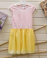 Летнее платье на 1-2лет Разные расцветки