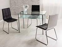 Стіл склянний Sono 80х60, фото 1