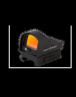 Коллиматорный прицел Sightmark Mini панорамный, 5 ур. яркости подсветки, крепление на Weaver SM26003