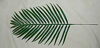 2-7 Лист пальмы  овальный (пластик), фото 1