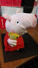 Мягкая игрушка свинка Пеппа 18 см, плюшевая Peppa Pig