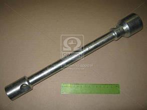 Ключ балонный ГАЗ  (21х41) (квадрат 21 под футорку, L=400 mm)(цинк). ИП-315. Ціна з ПДВ.
