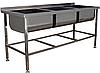 Меблі з нержавіючої сталі для кухонь ресторанів та барів.Виготовляємо під індивідуальне замовлення.