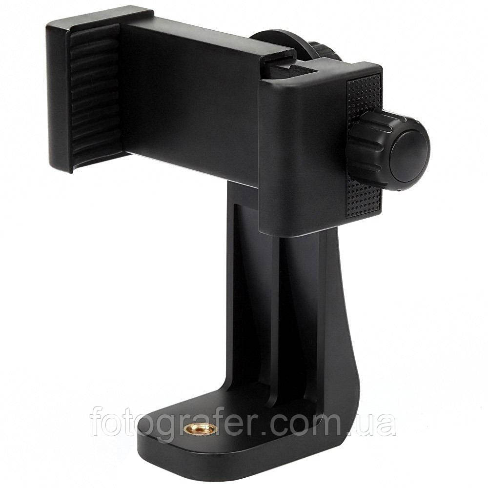 Держатель для смартфона для установки на штатив с резьбовым зажимом Luxfoto / в магазине