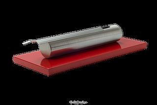Біокамін GLOBMETAL c нержавіючої сталі, червоний Stainles, фото 2