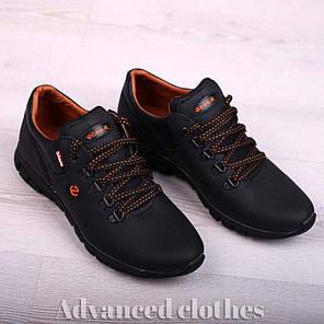 Кроссовки мужские на шнурке натуральная кожа, фото 2