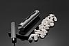 Биокамин GLOBMETAL c нержавеющей стали, черный Stainles, фото 4