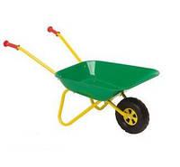 Тачка Металлическая детская Rolly Toys 271900 зеленая