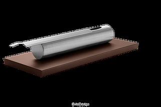 Біокамін GLOBMETAL c нержавіючої сталі, коричневий Stainles, фото 2
