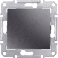 SDN0400170 Вимикач прохідний 1-клавішний, графіт Schneider Electric Sedna