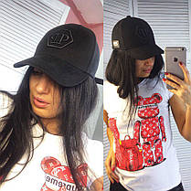 Бейсболка PP с надписью вышивка коттон, фото 2