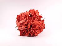 Букет роз из фоамирана(латекса). Цвет красный