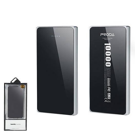 Портативное зарядное устройство (Power Bank) Remax Proda Super Alloy PPP-12 10000mAh