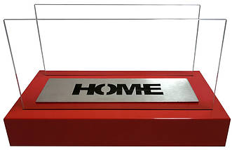 Биокамин GLOBMETAL Home красный, фото 2