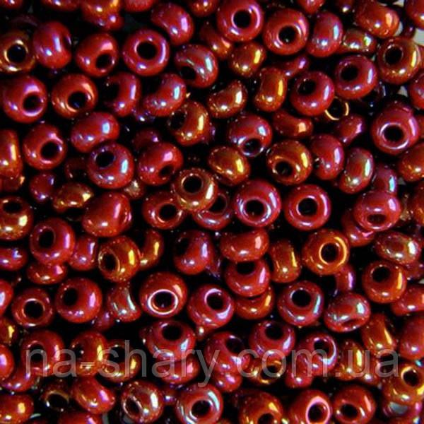 Чешский бисер для рукоделия Preciosa (Прециоза) оригинал 50г 33119-14600-10 Красный