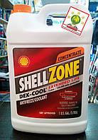 Антифриз Shell Zone Dex-Cool / цвет: красный / емкость 3.78 литров