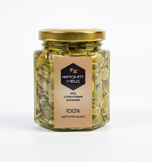 Мёд с тыквенными семечками от 100гр